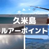 久米島のルアー釣りポイントを紹介【おかっぱり編】